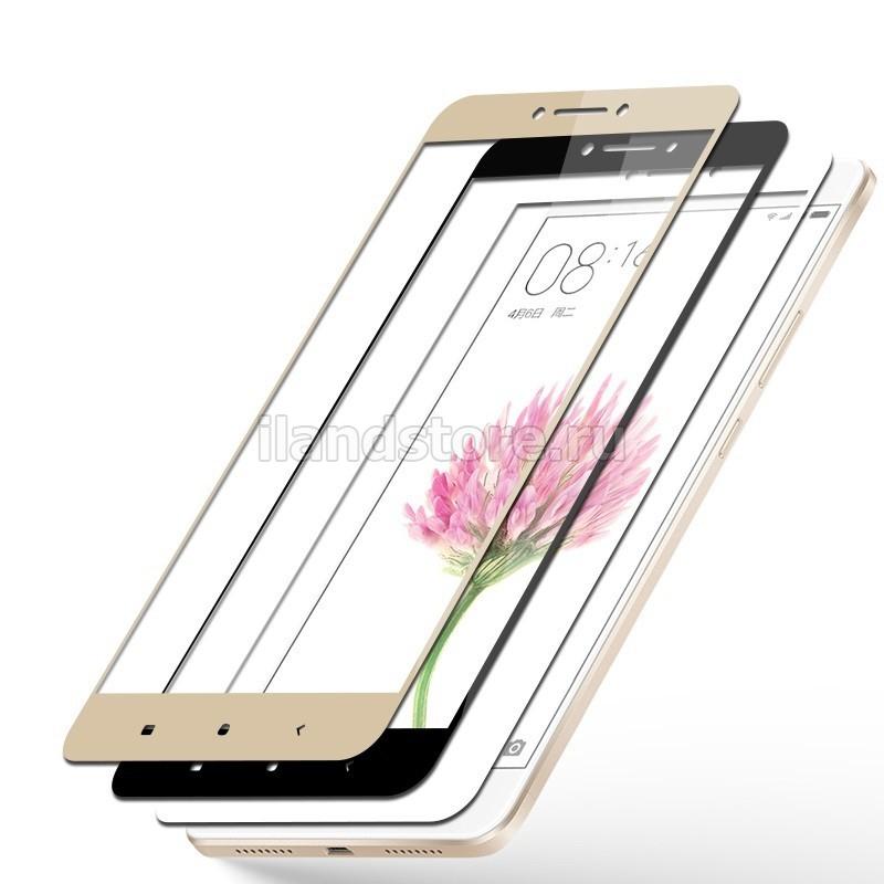 Защитное стекло CaseGuru для Xiaomi Redmi 5 Plus (Black)