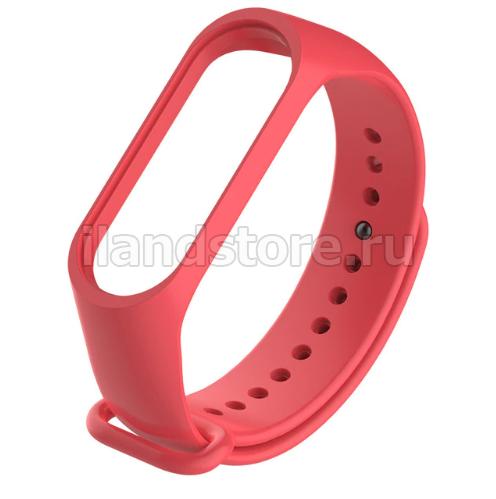 Ремешок для Xiaomi Mi Band 3/4 Красный