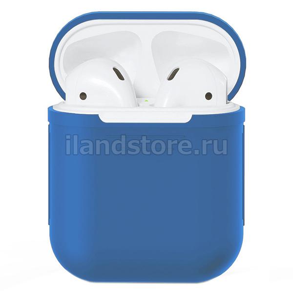 Чехол Silicone Case для AirPods (Синий)