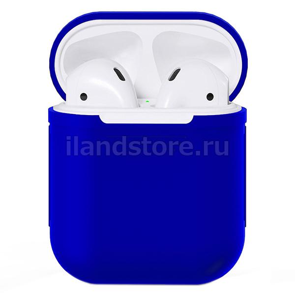 Чехол Silicone Case для AirPods (Голубой)