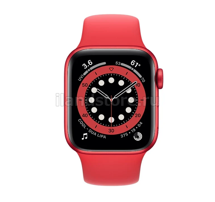 Apple Watch S6 Sport 44mm GPS Red Al/Red Sport Band