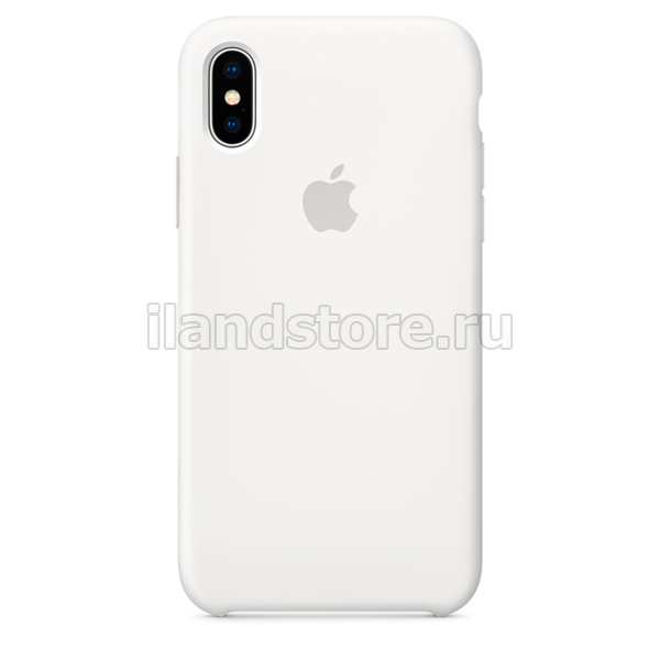 Apple iPhone X Silicone Case White (MQT22ZM/A)