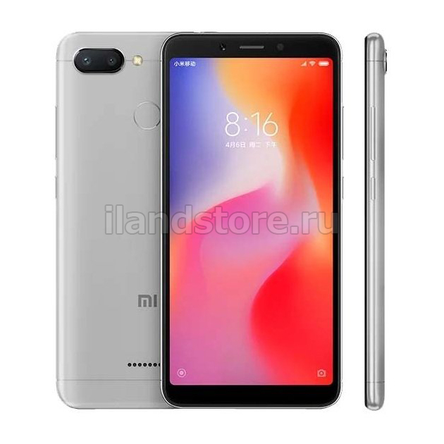 Xiaomi Redmi 6 3/32GB Gray EU