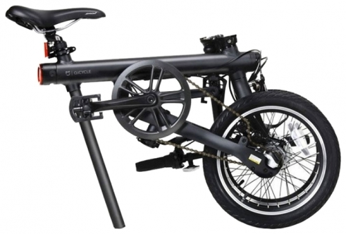 Cкладной электровелосипед Xiaomi QiCycle Black