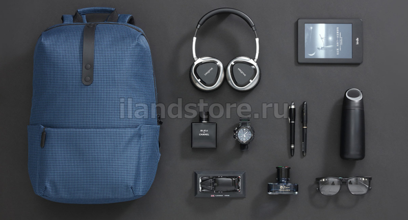 Рюкзак Xiaomi Leisure College Style Gray (Серая клетка)  (ZJB4056CN)