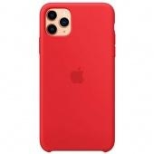 Apple Silicone Case для iPhone 11 Pro Max (Red)