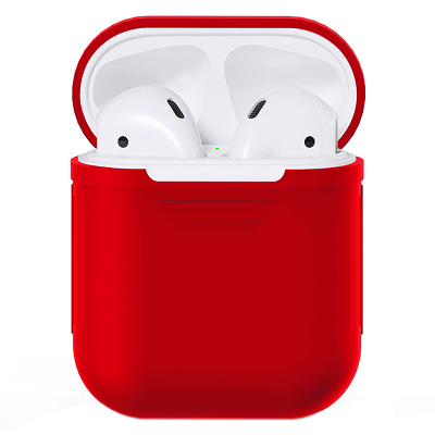 Чехол Silicone Case для AirPods (Red)