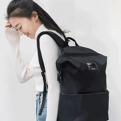 Рюкзак Xiaomi 90 Points Lecturer Casual Backpack Black 2082