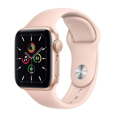 Apple Watch SE Sport 40mm GPS Gold Al/Pink Sport Band