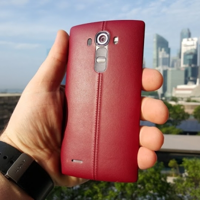 LG G4 H818 Dual Leather Red