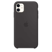 Apple Silicone Case для iPhone 11 (Black)