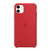 Apple Silicone Case для iPhone 11 (Red)