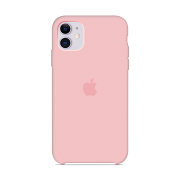 Apple Silicone Case для iPhone 11 (Pink Sand)