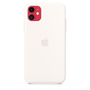 Apple Silicone Case для iPhone 11 (White)