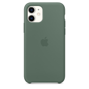Apple Silicone Case для iPhone 11 (Pine Green)