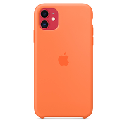 Apple Silicone Case для iPhone 11 (Orange)