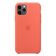 Apple Silicone Case для iPhone 11 Pro (Orange)