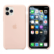 Apple Silicone Case для iPhone 11 Pro Max (Pink Sand)