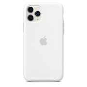 Apple Silicone Case для iPhone 11 Pro Max (White)
