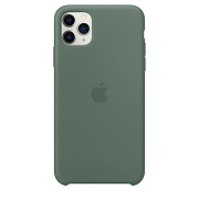 Apple Silicone Case для iPhone 11 Pro Max (Pine Green)
