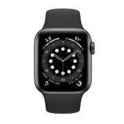 Apple Watch S6 Sport 40mm GPS SpaceGray Al/Black Sport Band