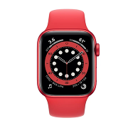 Apple Watch S6 Sport 40mm GPS Red Al/Red Sport Band
