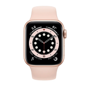 Apple Watch S6 Sport 44mm GPS Gold Al/Pink Sport Band
