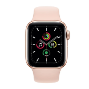 Apple Watch SE Sport 44mm GPS Gold Al/Pink Sport Band