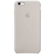 Apple iPhone 6 / 6S Plus Silicone Case Бежевый (MKXN2)