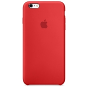 Apple iPhone 6 / 6S Plus Silicone Case Красный (MKXM2)