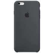 Apple iPhone 6 / 6S Silicone Case Угольно-серый (MKY02)