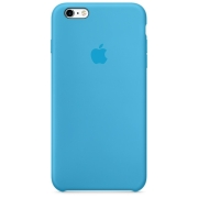 Apple iPhone 6 / 6S Silicone Case Голубой (MKY52)