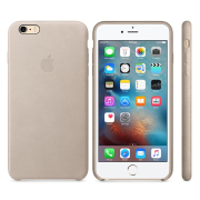 Apple iPhone 6 / 6S Plus Leather Case Телесный (MKXE2)