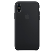 Apple iPhone X Silicone Case Black (MQT12ZM/A)