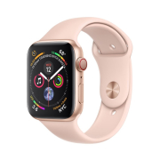 Apple Watch S4 Sport 40mm GPS Gold Al/Pink Sand Sport Band (MU682)