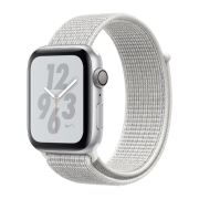 Apple Watch S4 Nike+ 40mm GPS Silver Al/Wh Nike Sport Loop (MU7F2)