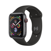 Apple Watch S4 Sport 44mm GPS SpaceGray Al/Black Sport Band (MU6D2)