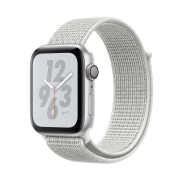 Apple Watch S4 Nike+ 44mm GPS Silver Al/Wh Nike Sport Loop (MU7H2)