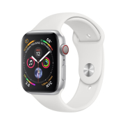 Apple Watch S4 Sport 40mm GPS Silver Al/White Sport Band (MU642)