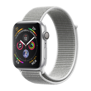 Apple Watch S4 Sport 44mm GPS SilverAl/Seashell Sport Loop (MU6C2)