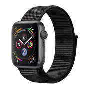 Apple Watch S4 Sport 40mm GPS SpaceGray Al/Black Sport Loop (MU672)