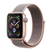 Apple Watch S4 Sport 40mm GPS Gold Al/Pink Sand Sport Loop (MU692)