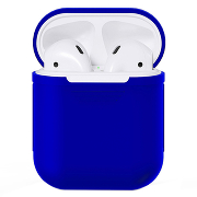 Чехол Silicone Case для AirPods (Midnight Blue)