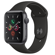 Apple Watch S5 Sport 44mm GPS SpaceGray Al/Black Sport Band