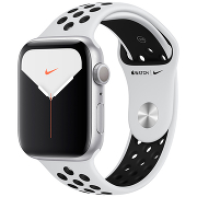 Apple Watch S5 Nike+ 40mm GPS Silver Al/Wh-Bl Nike Sport Band