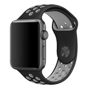 Ремешок COTEetCI W12 Apple Watch Band 42MM/44MM Black/Grey
